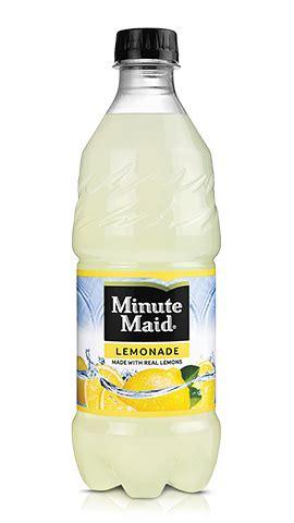 ingredients in minute light lemonade lemonade minute 174