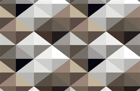 geometric triangle pattern wallpaper cool brown geometric pattern wall mural muralswallpaper