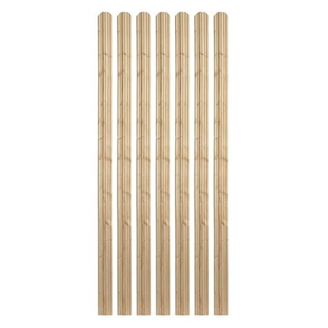 ear fence pickets outdoor essentials 5 8 in x 3 1 2 in x 6 ft moulded spruce ear fence picket 7