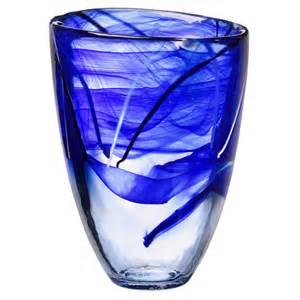 kosta boda vase large vase blue kosta boda us