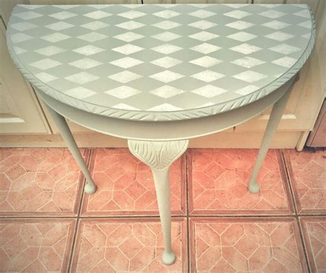 Scotch By Loving Shop loving this half moon table painted in frenchic scotch