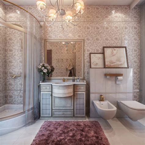 can i use the bathroom in french classic interior design style classicism style