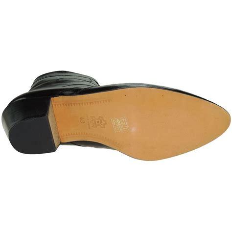 botines de cuero hombre botines hombre piel negro cremallera tac 243 n cubano suela de