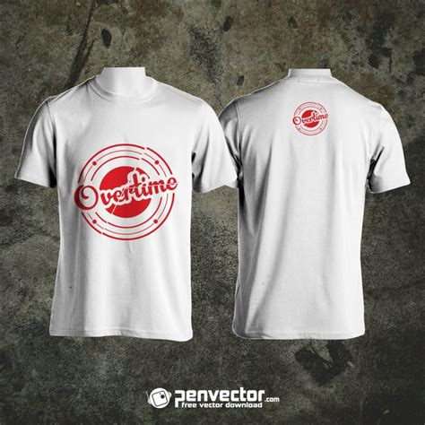 how to design shirts to mock up overtime t shirt design mock up free vector