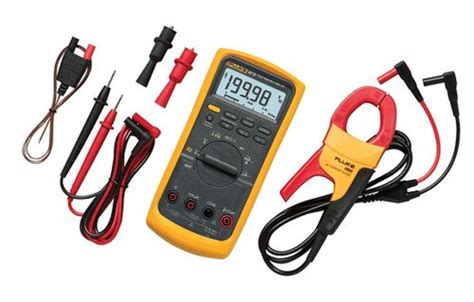 Fluke 87v Digital Multimeter fluke 87v imsk industrial digital multimeter with fluke i400 cl meter combo kit pressure gauges