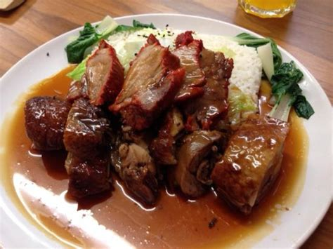 Simple Duck And Char Siu Rice by Roast Duck Char Siu Pork And Rice Picture Of