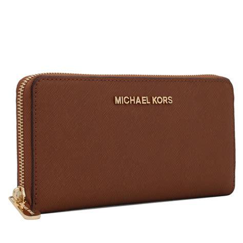 michael kors jet set travel zip around saffiano leather