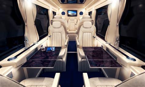 Mercedes Sprinter Interior by Mercedes Sprinter Shuttle Rentals Nyc