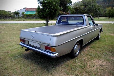 Handmade Mercedes - this custom 1971 mercedes truck packs a lexus v8