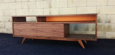 mid century modern modern tv console tv stand by