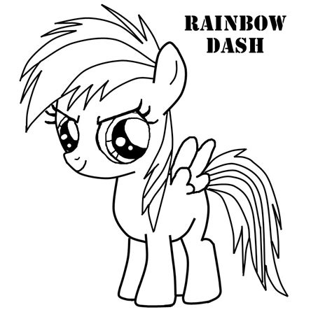 Coloring Pages by Rainbow Dash Coloring Pages Best Coloring Pages For