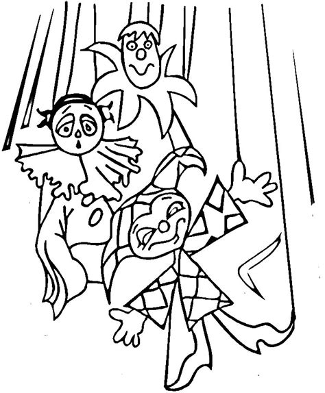 free coloring pages of alligator puppet