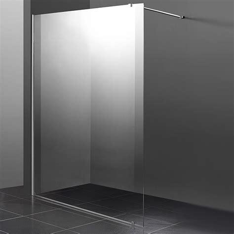 paroi italienne 120 paroi fixe de 120 cm en 8mm pour de salle de bain