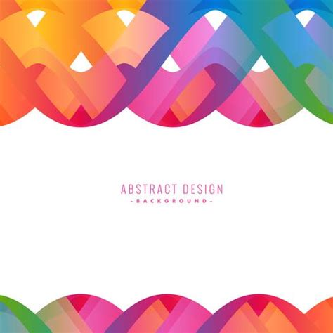 colorful design colorful abstract wavy background design free