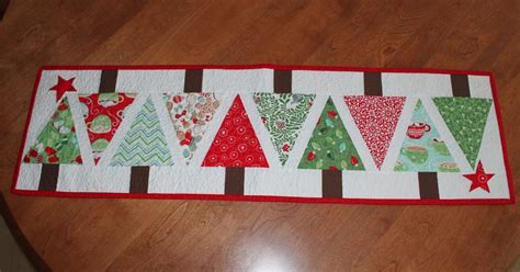 sea salt quilts christmas table runner