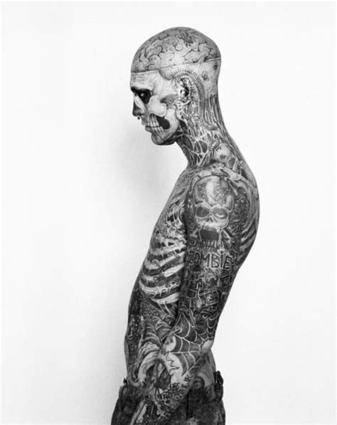 man with full body zombie tattoo 38 best rick genest images on pinterest rick genest