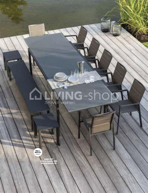 uitschuifbare tafel wehk diphano selecta outdoor uitschuifbare tuintafel outdoor