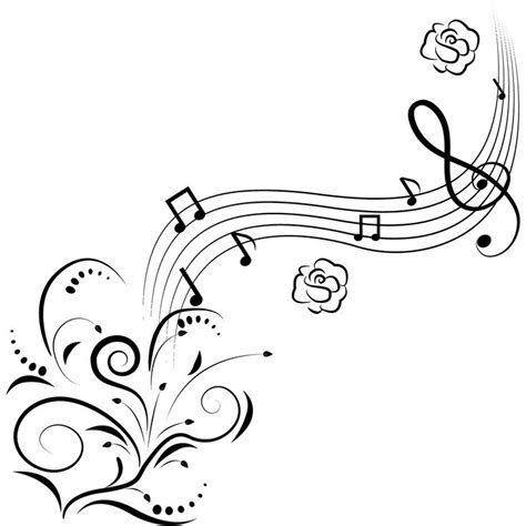 music staff coloring pages music notes music and note on pinterest