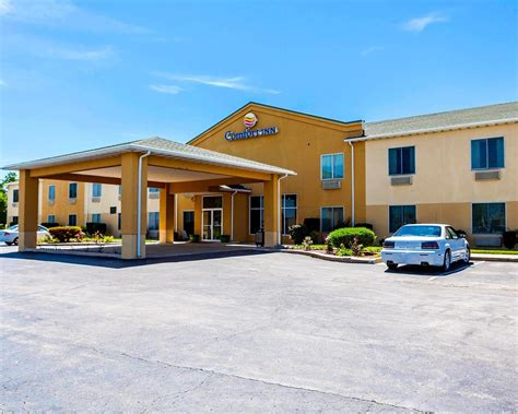 comfort inn missouri comfort inn in kingdom city mo 573 642 7
