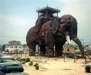 Lucy the elephant an atlantic city attraction during a period of