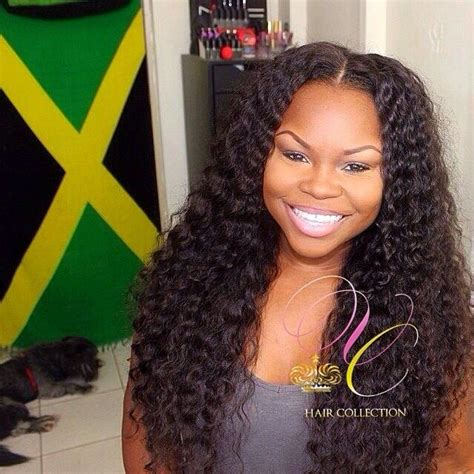 jamaican afro weave virgin couture brazilian caribbean curly deep wavy by pure