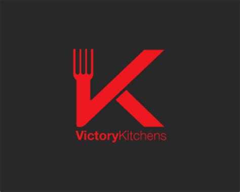 Kitchen Design Logo Victory Kitchens Designed By Jacedesign Brandcrowd