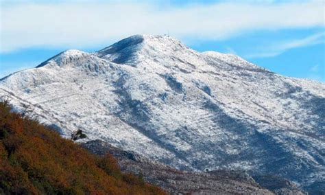 dubrovnik snow snow topped mountains of konavle the dubrovnik times