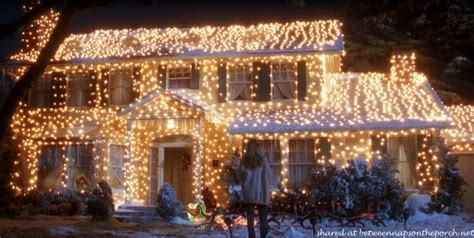 The Christmas Movie House Tacky Light Tour Light Up House