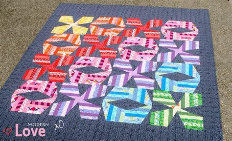 Big Stitch Quilting by Modern Xo Quilt Pattern Big Stitch Quilting