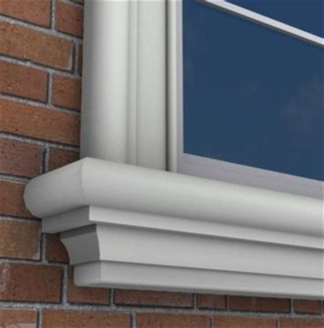 Outdoor Window Ledge Mx205 Exterior Window Sills Molding And Trim Toronto