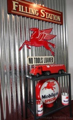 themed parties filling station old time filling station decor mobil pegasus theme for