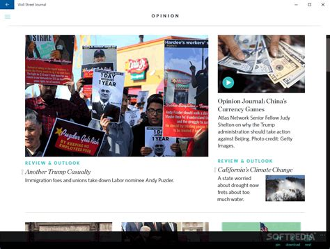 wall street journal review section the wall street journal for windows 10 download