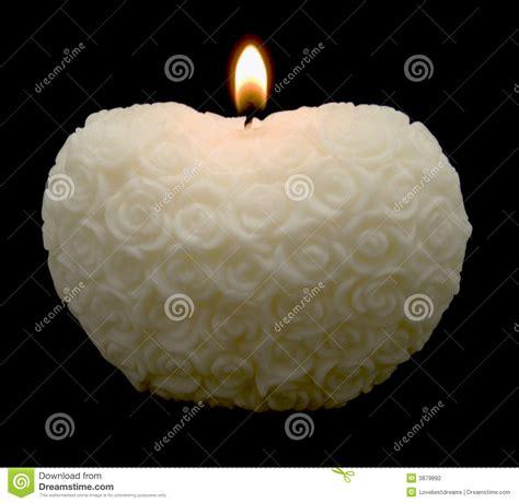 imagenes velas blancas vela blanca del coraz 243 n de las rosas fotograf 237 a de archivo