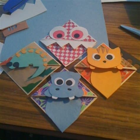 How To Make Corner Bookmarks With Paper - 1000 ideas about corner bookmarks on