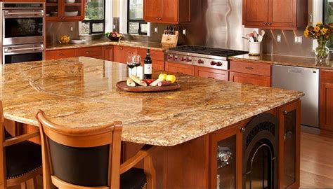 kitchen islands with granite tops corian countertops heat resistant exles of quartz
