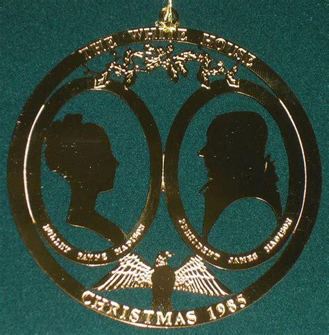 1985 white house ornament
