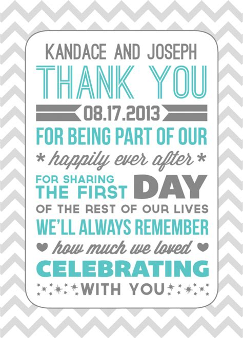 Wedding Thank You Template thank yous weddingbee photo gallery
