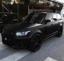25 best ideas about range rover black on