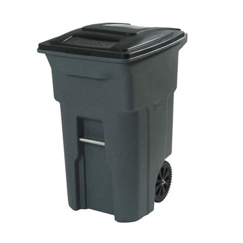 64 gallon trash can toter 64 gallon wheeled cart walmart