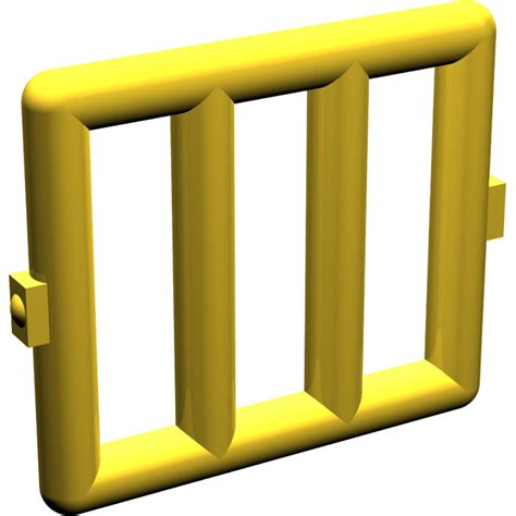 Lego Part Yellow Window 1 X 2 X 3 Pane With Thick Corner Tabs lego yellow bar 1 x 4 x 3 with 2 window hinges 6016 brick owl lego marketplace