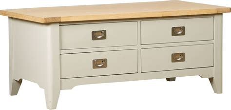 painted coffee tables with drawers buy webster bordeaux painted coffee table with 4