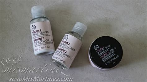 Paket Cleanser Toner Vitamin E The Shop the shop vitamin e cleanser toner xoxo mrsmartinez lifestyle by