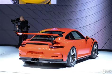 Porsche 991 Motor by Geneva Motor Show Porsche 991 Gt3 Rs Hartvoorautos Nl