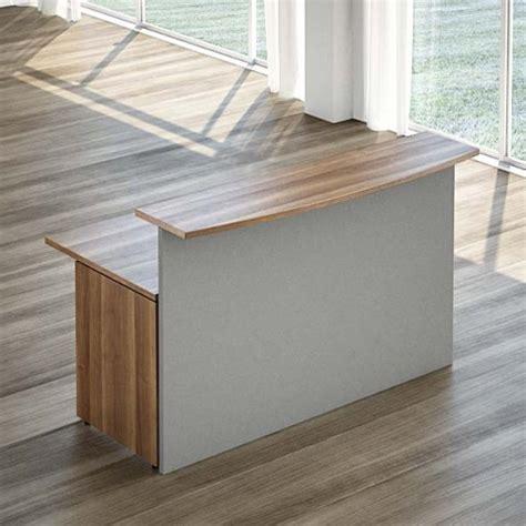 scrivania reception reception lineare con scrivania 160 cm linekit