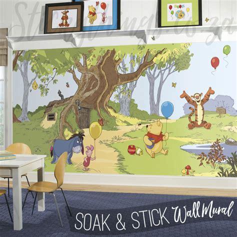 winnie the pooh wall murals winnie the pooh mural disney pooh friends