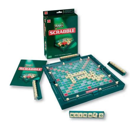 scrabble mattle mattel gra scrabble travel podr 243 żne 52495 3346831753