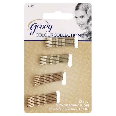 goody colour collection metallic small bobby pin black upc 041457155028 goody colour collection small metallic