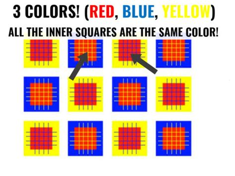 brain color illusion this optical illusion test will test and challenge your
