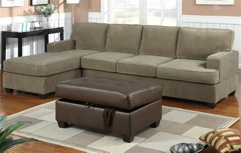 corduroy couch sectional bobkona sofa corduroy sage sectional set couch f7180 ebay