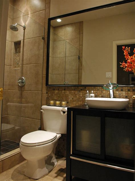 Designs For Small Bathrooms With A Shower 5 Must See Bathroom Transformations Bathroom Ideas Designs Hgtv